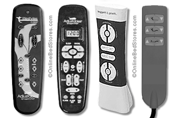 serta adjustable bed remote control instructions