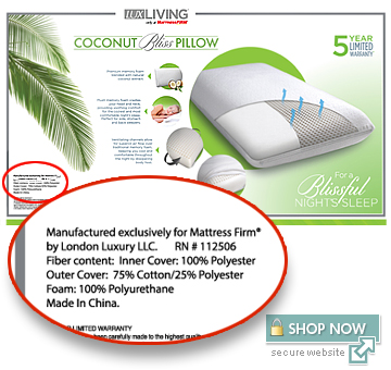 Coconut Bliss Pillow Obs