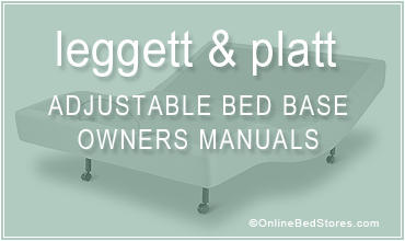 leggett platt adjustable bed owners manuals - Leggett And Platt Adjustable Bed
